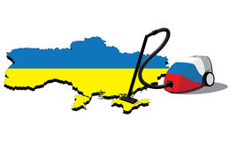Russland-Staubsauger in Krim Stockfoto