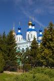 Russland Tambow-Stadt Kathedrale von Kasan-Kloster Stockbilder