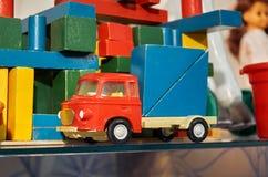 Russland Toy Museum im zentralen Kind-` s Speicher 11. Februar 2018 Stockfotografie