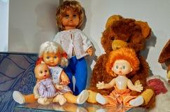 Russland Toy Museum im zentralen Kind-` s Speicher 11. Februar 2018 Stockfotos