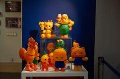 Russland Toy Museum im zentralen Kind-` s Speicher 11. Februar 2018 Stockfoto