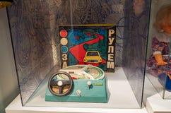 Russland Toy Museum im zentralen Kind-` s Speicher 11. Februar 2018 Lizenzfreie Stockfotos