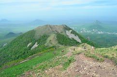 Russland und der Kaukasus Ansicht vom Berg Beshtau Stockfoto
