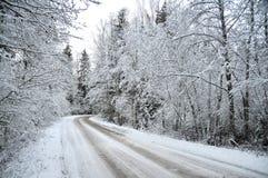 Russland, UralJanuary, Temperatur -33C Lizenzfreie Stockfotografie