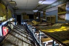 Russland, Voronezh - CIRCA 2017: TrainingsKlassenzimmer der Zivilverteidigung Stockfotos