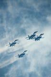 Russland. Zhukovski Luftfahrtsalon. MAKS. SU-27 lizenzfreie stockfotos