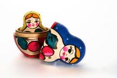 Russo di matriuska delle bambole Fotografia Stock
