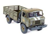 Russo di modello raccoglibile GAZ-66, isolato Fotografie Stock Libere da Diritti