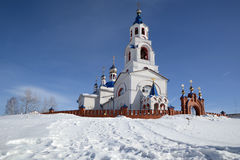 ` Russo Dormition della chiesa ortodossa del ` di Theotokos fotografie stock