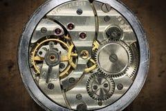 Russo interno do relógio de bolso Fotografia de Stock