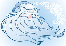 Russo Papai Noel Fotografia de Stock