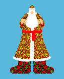 Russo Papai Noel Casaco de Frost do avô no Orn tradicional Imagem de Stock