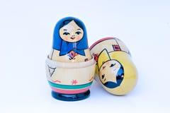 Russo que empilha bonecas Fotografia de Stock