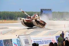 Russo T-72B3M Tank Foto de Stock