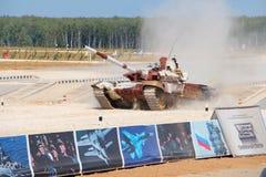 Russo T-72B3M Tank Fotografia de Stock