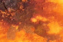 Rust. Deep shades of orange rust backround Stock Images