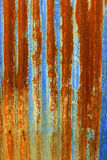 Rust on zinc texture background Royalty Free Stock Photography