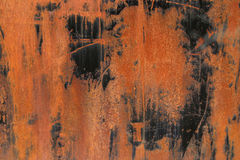 Rust. Y steel panel Royalty Free Stock Photography