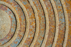 Rust abstract texture Stock Photos