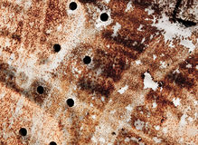 Rust background. Texture of rusty metal structure Stock Images