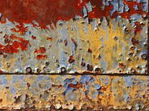 Rust background. Abstract corroded colorful wallpaper grunge background iron rusty artistic wall peeling paint Stock Photo