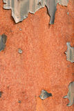 Rust. Background red orange iron rust Stock Image