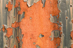 Rust. Background red orange iron rust Royalty Free Stock Photography