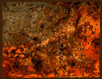 Rust. Background reddish-brown rust texture Stock Images