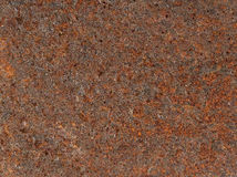 Rust backgrounds - Metal covert in rust Stock Photography