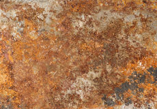 Rust backgrounds - Metal covert in rust Royalty Free Stock Photo