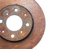 Rust brake discs Royalty Free Stock Images