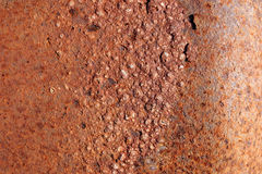 Rust bubbles Royalty Free Stock Image