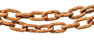Rust chain Royalty Free Stock Photo