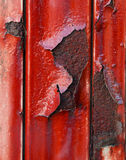 Rust. Close up red rusty metal Royalty Free Stock Image
