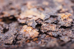 Rust closeup. Structure corrosion, texture Stock Image
