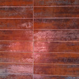 Rust Color Tiles Stock Photography