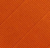 Rust-colored corrugations. Make a striking pattern Royalty Free Stock Photography