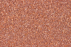 Rust colored decorative sand Stock Photo