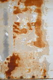Rust and Corrosion. Texture of rust and corroding of metal, wood and paint Royalty Free Stock Images