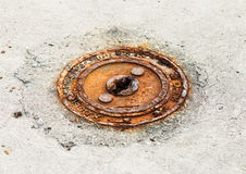 Rust. Royalty Free Stock Photo