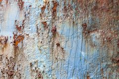 Rust covered weathered iron steel metal background stock images