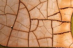 Rust and Cracks Stock Photography