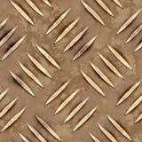 Rust diamond metal Stock Photos