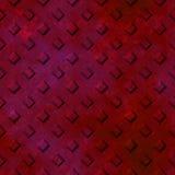 Rust diamond plate seamless texture Royalty Free Stock Photos