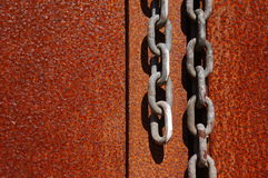 Rust door Stock Photo
