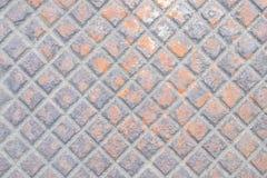 Rust on drain cap Stock Images