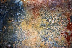 Rust and Dust Background Royalty Free Stock Images