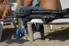 Rust en wapens Royalty-vrije Stock Afbeeldingen