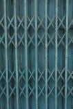 Rust fold steel door. Old rust fold steel door Stock Photos
