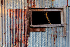 Rust galvanize background Royalty Free Stock Photos